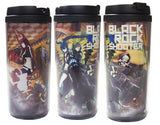 Black ★ Rock Shooter - Chariot - Dead Master - Black ★ Gold Saw - Strength - Tumbler (Cospa) - 2