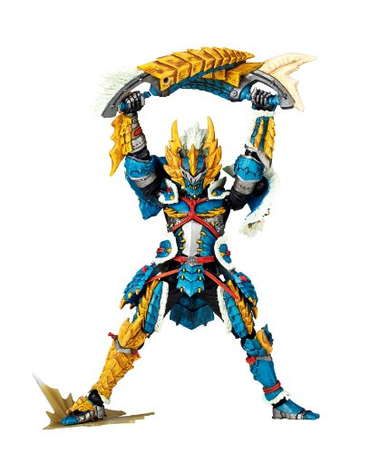 Image 6 for Monster Hunter - Hunter - Revoltech #133 - Jinouga Series (Kaiyodo)