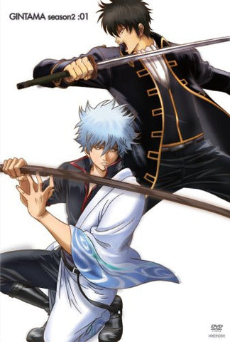 Image for Gintama Season 2 01 [DVD+CD Limited Edition]