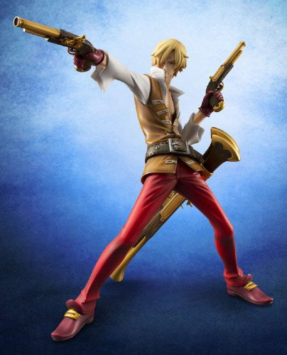 "Image 2 for One Piece Film Z - Sanji - Excellent Model - Portrait Of Pirates ""Edition-Z"" - 1/8 (MegaHouse)"