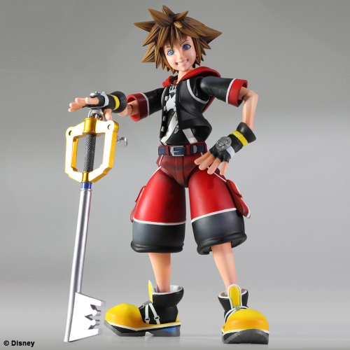 Image 3 for Kingdom Hearts 3D: Dream Drop Distance - Sora - Play Arts Kai (Square Enix)