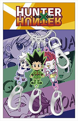 Image 1 for Hunter x Hunter - Gon Freecss - Hisoka - Killua Zoldyck - Keyholder Set (Ute)