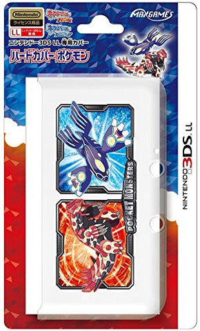 Image for Pokemon Hard Cover for 3DS LL (Genshi Groudon/Genshi Kyogre)