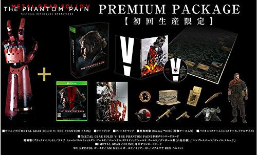 Image 3 for METAL GEAR SOLID V: THE PHANTOM PAIN [PREMIUM PACKAGE KONAMI STYLE LIMITED EDITION - Xbox One]
