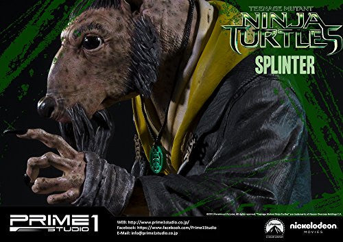 Image 6 for Teenage Mutant Ninja Turtles (2014) - Splinter - Museum Masterline Series MMTMNT-05 - 1/4 (Prime 1 Studio)