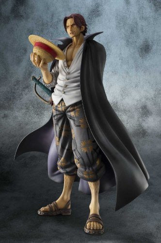 Image 8 for One Piece - Red-Haired Shanks - Excellent Model - Portrait Of Pirates DX - 1/8 - Marineford ver. (MegaHouse)
