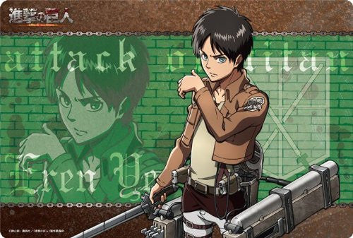 Image 1 for Shingeki no Kyojin - Eren Yeager - Mousepad - Large Format Mousepad (Broccoli)