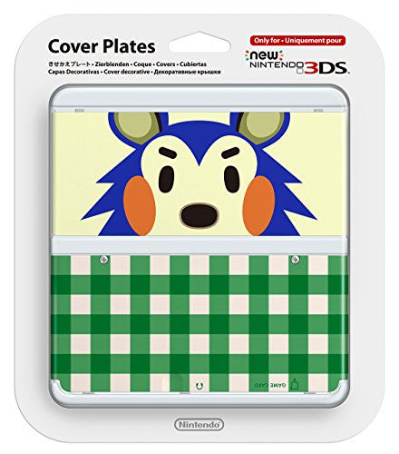 Image 1 for New Nintendo 3DS Cover Plates No.015 (Animal Crossing Kinuyo)
