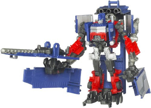 Image 1 for Transformers Darkside Moon - Convoy - Cyberverse - CV12 - Optimus Prime & Armored Weapon Platform (Takara Tomy)