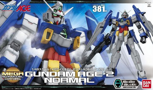 Image 5 for Kidou Senshi Gundam AGE - Gundam AGE-2 Normal - Mega Size Model - 1/48 (Bandai)