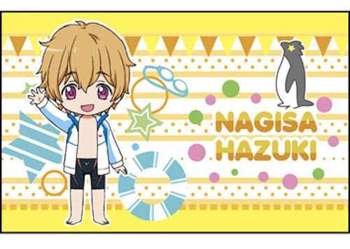 Image 1 for Free! - Hazuki Nagisa - Mini Towel - Scrunchie (Ensky)