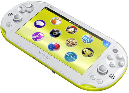 Image 3 for PlayStation Vita Wi-fi Model Limegreen White (PCH-2000)