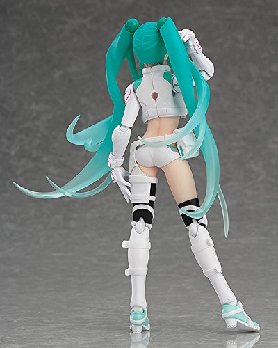 Image 3 for GOOD SMILE Racing - Vocaloid - Hatsune Miku - Figma #250 - EV Mirai ver., Racing 2014 (Max Factory)