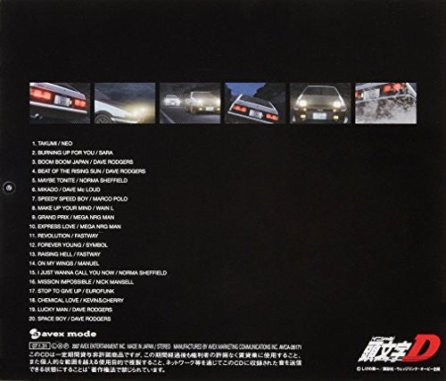Image 2 for SUPER EUROBEAT presents INITIAL D NON STOP MIX from TAKUMI-selection