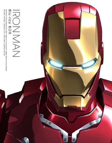 Image for Iron Man Blu-ray Box