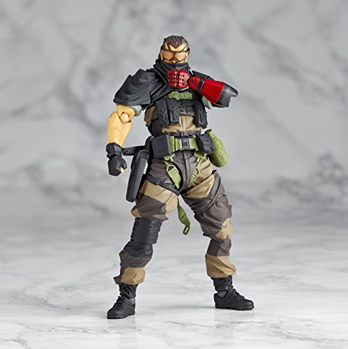 Image 7 for Metal Gear Solid V: The Phantom Pain - Naked Snake - Revolmini rm-012 - Revoltech - Venom ver. (Kaiyodo)