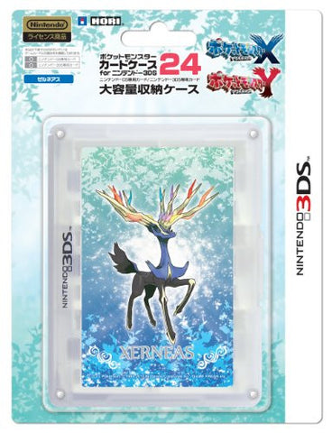 Image for Pokemon Card Case 24 for 3DS (Xerneas)