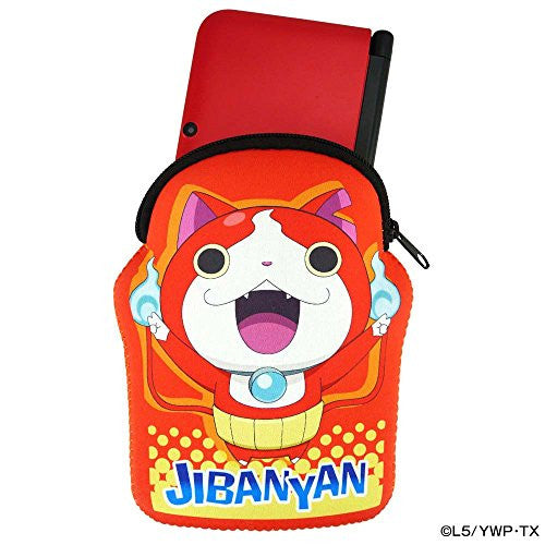 Image 2 for Youkai Watch Soft Pouch for 3DS LL (Jibanyan Ver.)