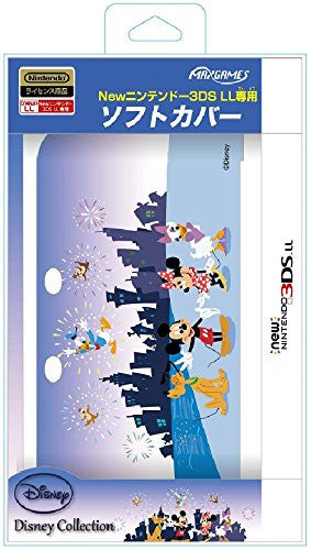 Image 1 for Soft Cover for New Nintendo 3DS LL (Mickey & Friends)
