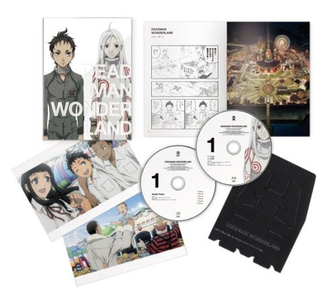 Image for Deadman Wonderland Vol.1 [Blu-ray+CD Special Edition]