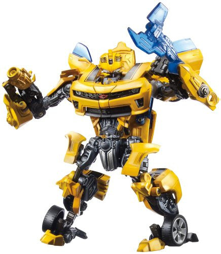 Image 1 for Transformers (2007) - Transformers Darkside Moon - Transformers: Revenge - Bumble - Autobot Alliance - AA-02 - Bumblebee - Battle Blade (Takara Tomy)