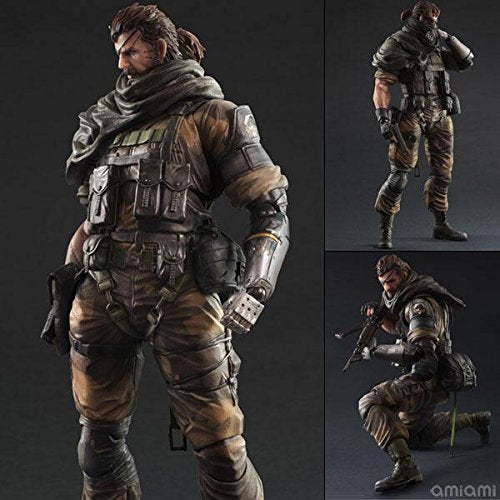 Image 1 for Metal Gear Solid V: The Phantom Pain - Naked Snake - Play Arts Kai - Splitter ver. (Square Enix)