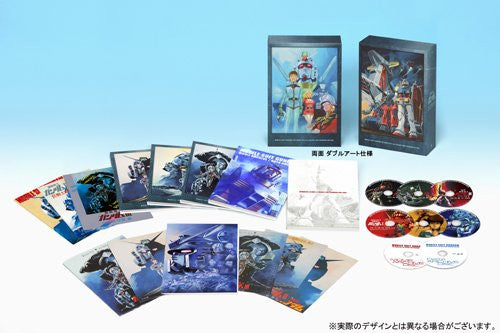 Image 5 for Mobile Suit Gundam Movie Blu-ray Trilogy Box Premium Edition [Limited Edition]
