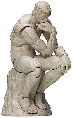 Image for Figma #SP-056b - The Table Museum - The Thinker - Plaster Ver. (FREEing)