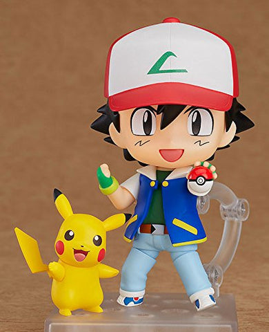 Image for Pocket Monsters - Pikachu - Satoshi - Nendoroid #800 (Good Smile Company)