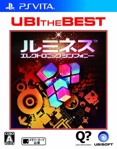Lumines: Electronic Symphony (UBI the Best)
