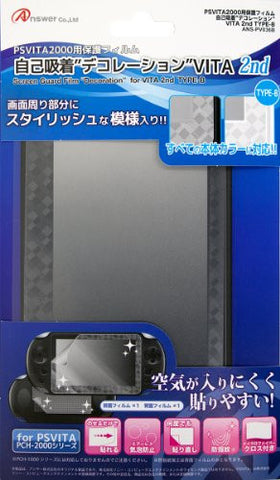 Image for Screen Protect Decoration Film for PS Vita PCH-2000 (Type B)