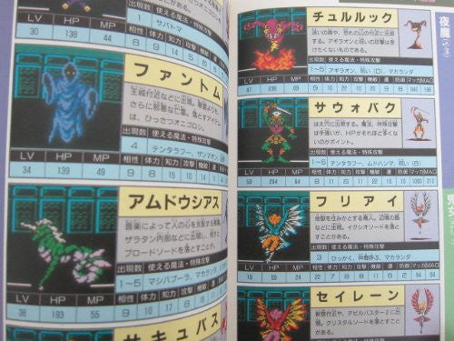 Digital Devil Story Megami Tensei Ii 2 Winning Strategy Guide Book / Nes