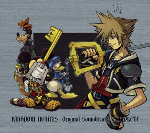 Image 1 for KINGDOM HEARTS Original Soundtrack COMPLETE