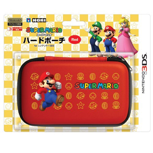 Image 1 for Super Mario Hard Pouch 3DS (Red)