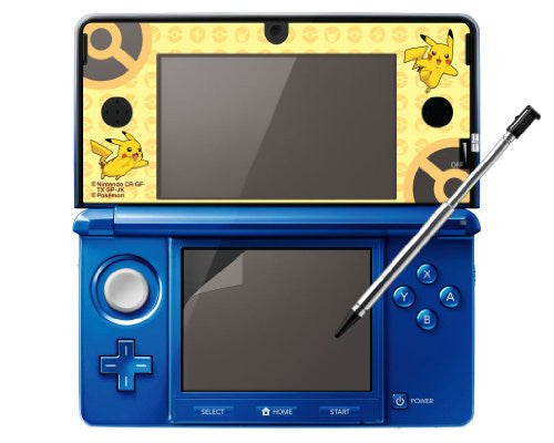 Image 2 for Protection Film for Nintendo 3DS [Pikachu Yellow Version]