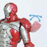 Thumbnail 5 for Iron Man 2 - Iron Man Mark V - Revoltech - Revoltech SFX 041 - Legacy of Revoltech - 41 (Kaiyodo)