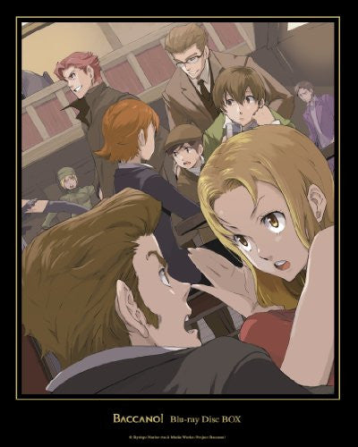 Image 1 for Baccano! Blu-ray Disc Box [Limited Edition]
