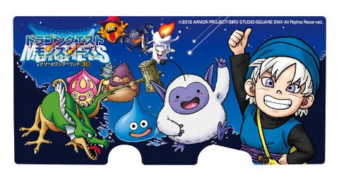 Image for Dragon Quest Monsters Terry no Wonderland 3D Sticker for Nintendo 3DS [Type A]