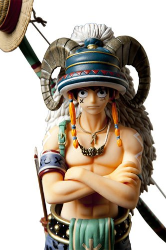 Image 2 for One Piece - Monkey D. Luffy - Door Painting Collection Figure - 1/7 - Animal ver. (Plex)