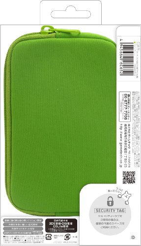 Image 2 for Palette Multi Soft Pouch for 3DS (Lime Green)
