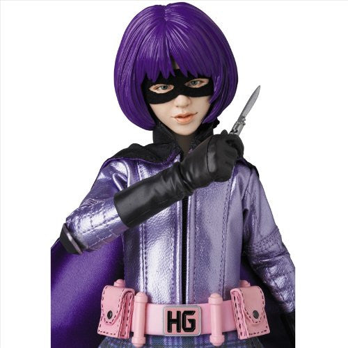 Image 4 for Kick-Ass - Hit-Girl - Real Action Heroes #677 - 1/6 (Medicom Toy)