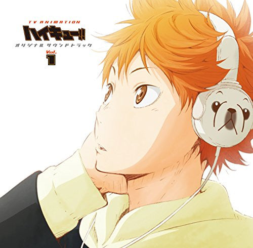 Image 1 for TV ANIMATION Haikyu!! Original Soundtrack Vol.1