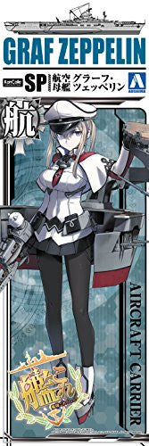 Image 5 for Kantai Collection ~Kan Colle~ - Graf Zeppelin - Kanmusu Aircraft Carrier Graf Zeppelin - 1/700 (Aoshima)