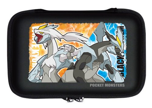 Image 2 for Pokemon Hard Pouch for 3DS LL (Black Kyurem & White Kyurem Version)