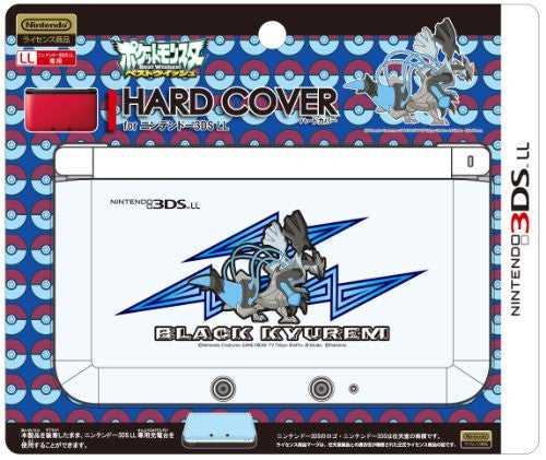 Image 1 for Hard Cover for 3DS LL (Black Kyurem Over Drive)