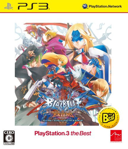 Image for Blazblue: Continuum Shift Extend (Playstation3 the Best)