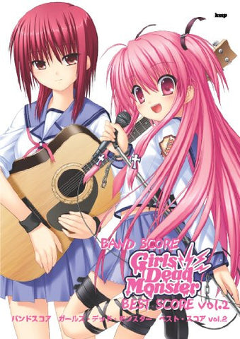Angel Beats Girls Dead Monster   Official Band Score Book Vol.2
