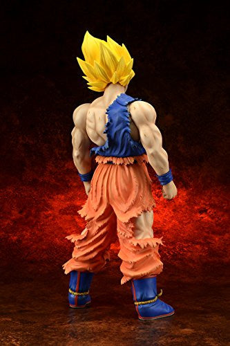 Image 4 for Dragon Ball Z - Son Goku SSJ - Gigantic Series - Damage ver. (X-Plus)