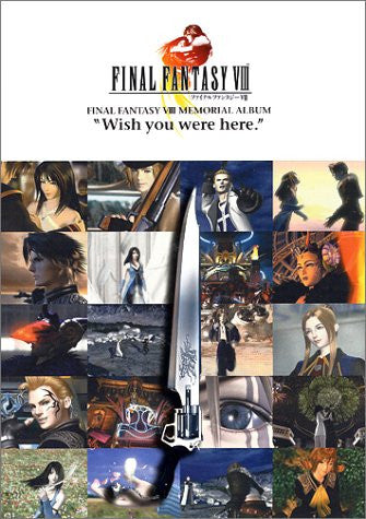 Image 1 for Final Fantasy Viii 8 Memorial Album Art Book / Ps