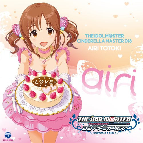 Image 1 for THE IDOLM@STER CINDERELLA MASTER 013 Airi Totoki